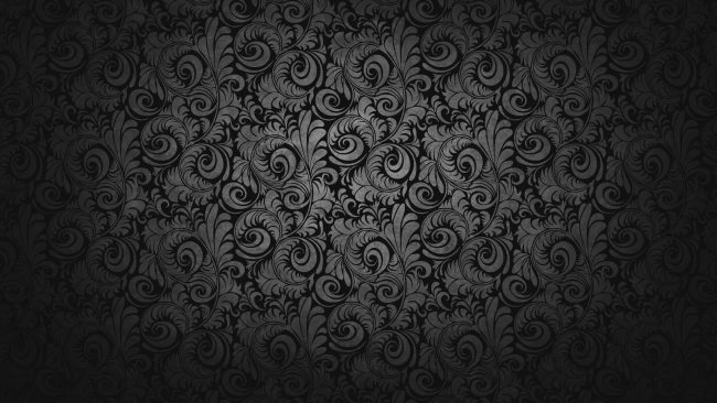 1920 × 1080 Glorious Black Design 1080p Desktop Wallpaper