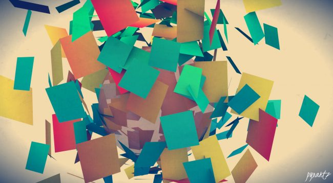 1960 × 1080 Awesome Abstract  Green, Yellow, Red, Brown Abstract Wallpaper