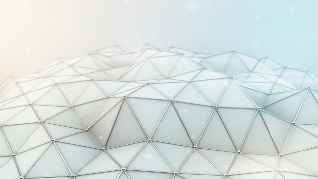 1920 × 1080 Hex Abstract Background for PC