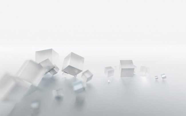 1920 × 1200 Cube abstract white background 2468546