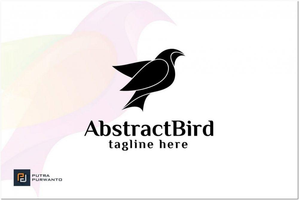 Abstract Bird Logo Vector