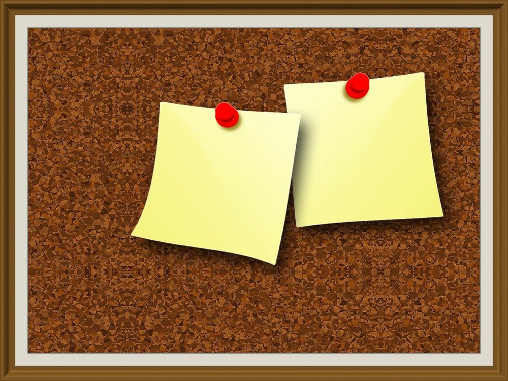 1280 × 960 Cork board Important Note HD Texture