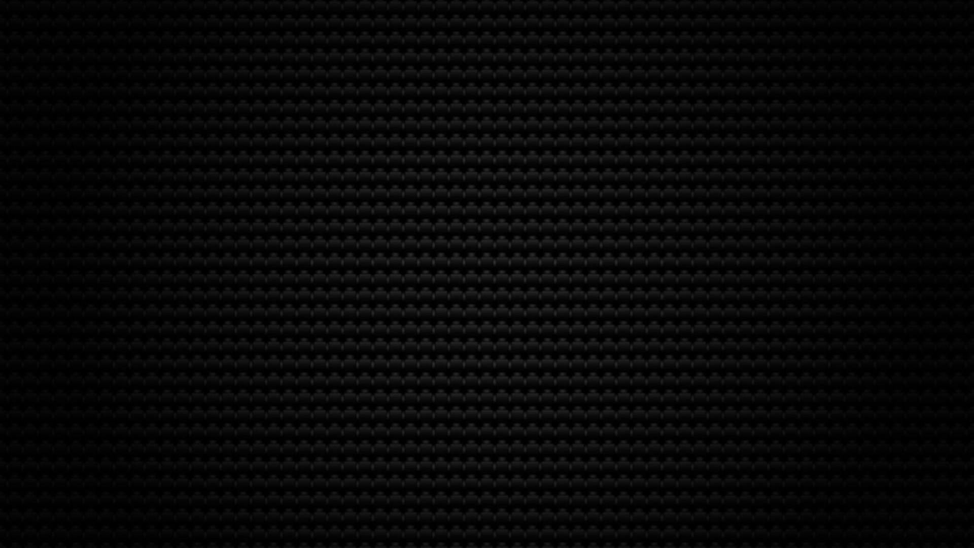 Full Black Carbon Fiber Wallpaper [1920 × 1080]