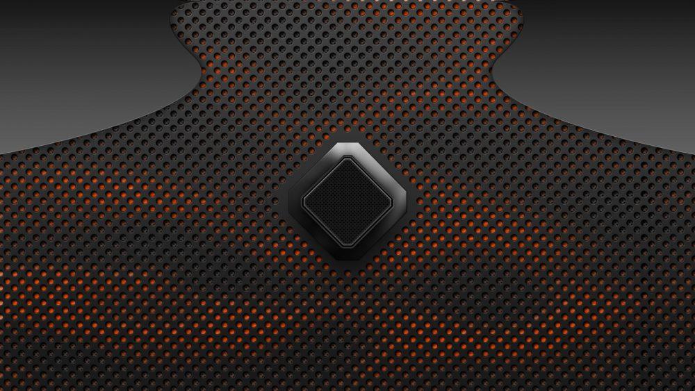 Black And Red Carbon Fiber 1920 × 1080