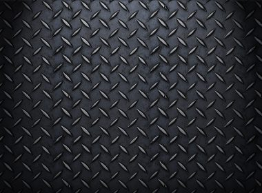 Metal Plate Texture Wallpaper