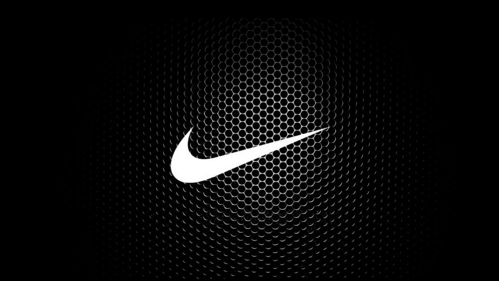 Nike Logo Carbon Fiber Wallpaper 1920 × 1080