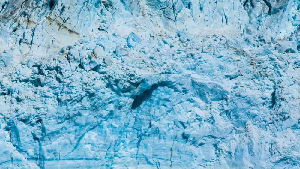 3840x2160 Ice mountain 4K texture