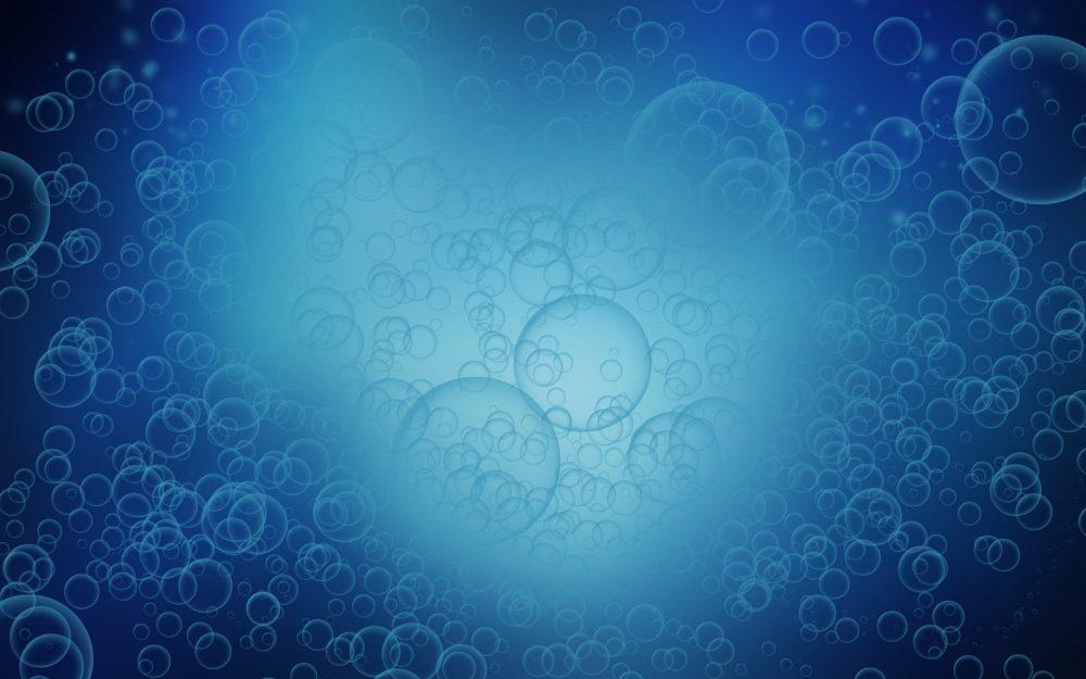 Blue Bubbles HD Wallpaper Texture 2880 × 1800
