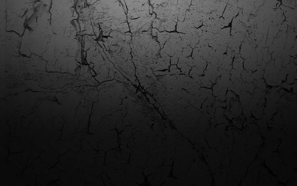 Cracked Black HD Texture Wallpaper-1920 × 1200
