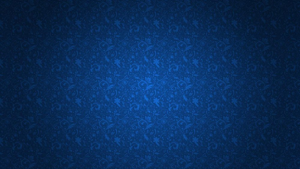 Dark Blue Floral design HD Texture 1920 × 1080