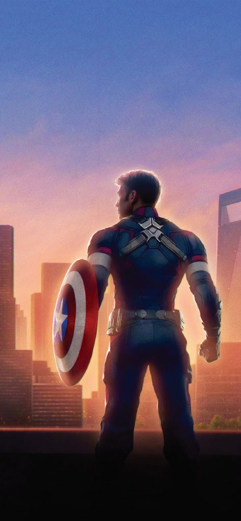 Captain America HD [1080×2340]