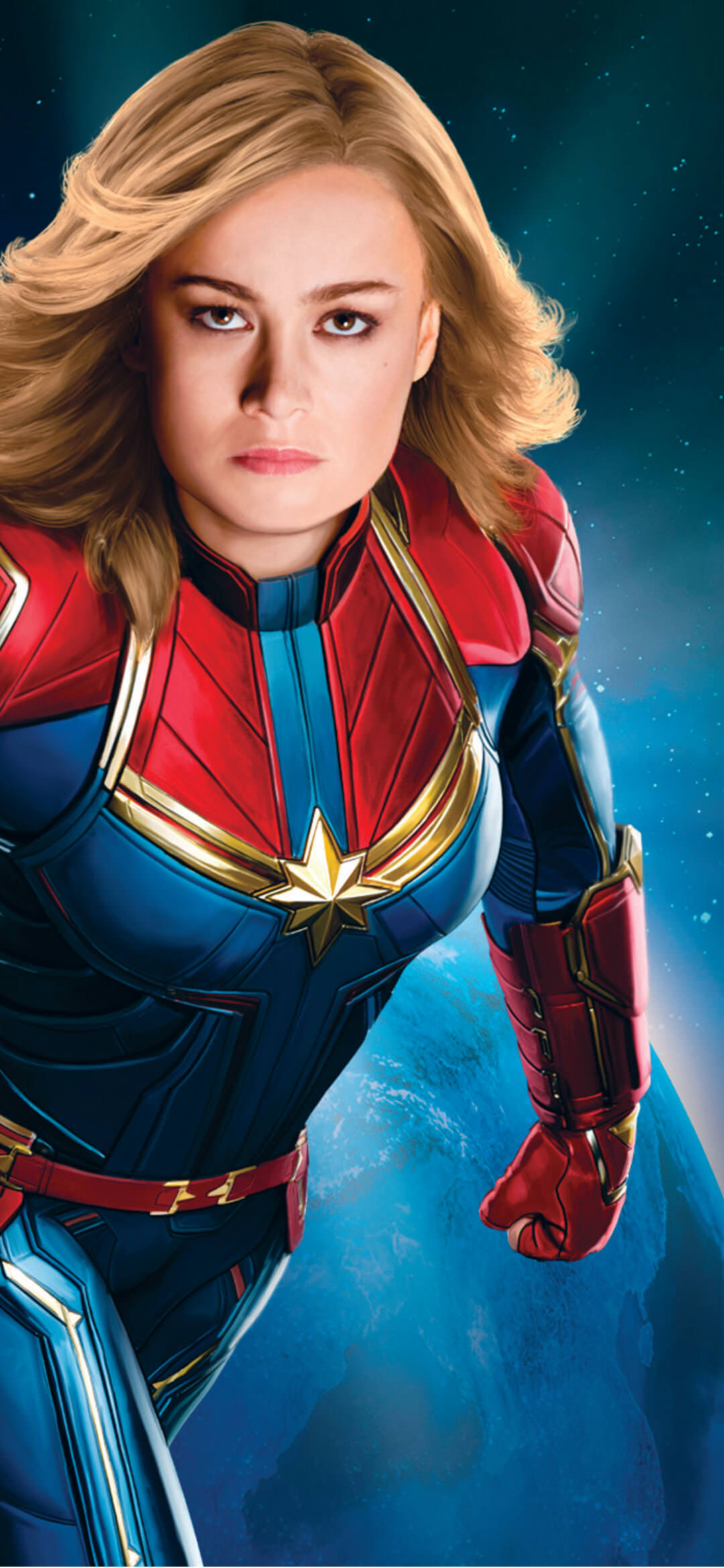 Captain Marvel Hd Wallpaper 1080 2340 Webrfree