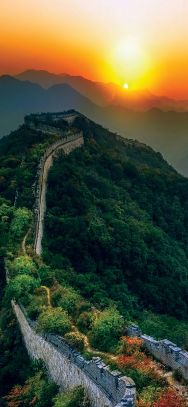 HD-great-wall-of-china-sunset-1080x2340