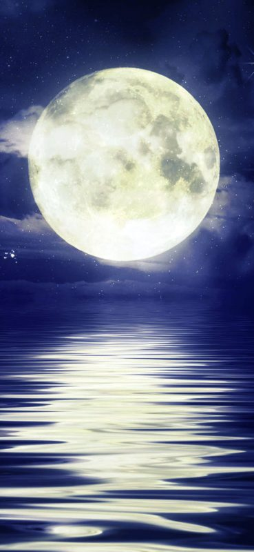 1080×2340-River-and-Close-up-Moon