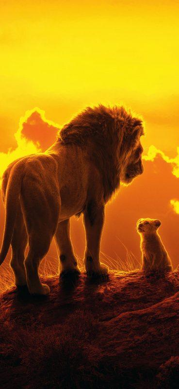 1080×2340-Simba-The-Lion-King-2019-Movie