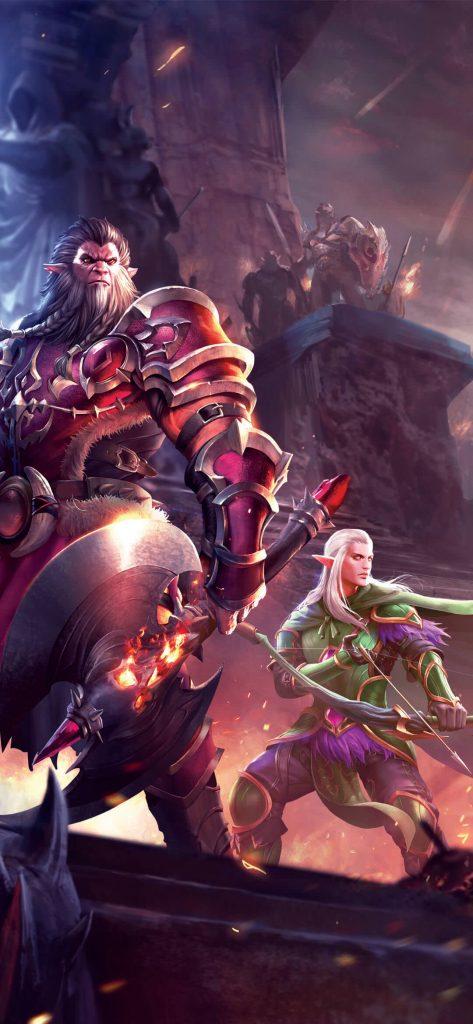 Video Game Crusaders Of Light [1080×2340]