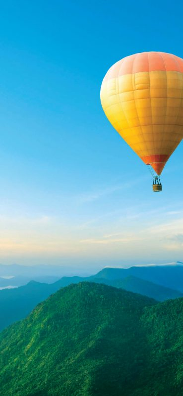 yellow-hot-air-balloon-1080x2340-wallpaper