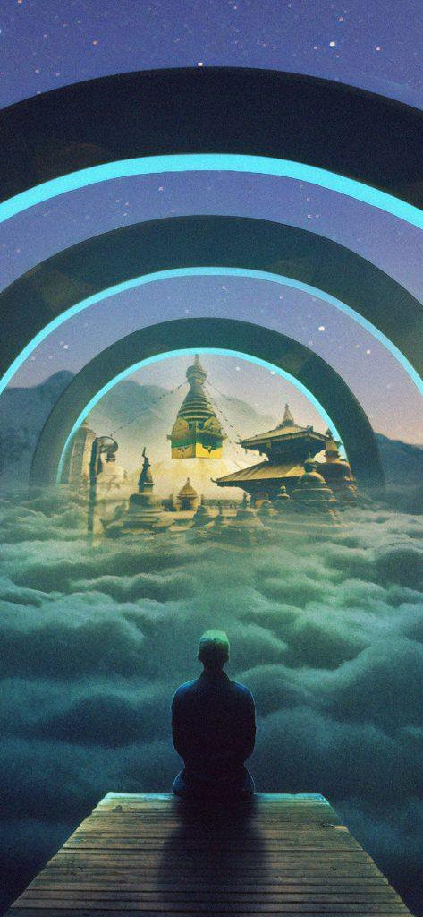 Amazing Surreal Dream HD Wallpaper [1080x2340]