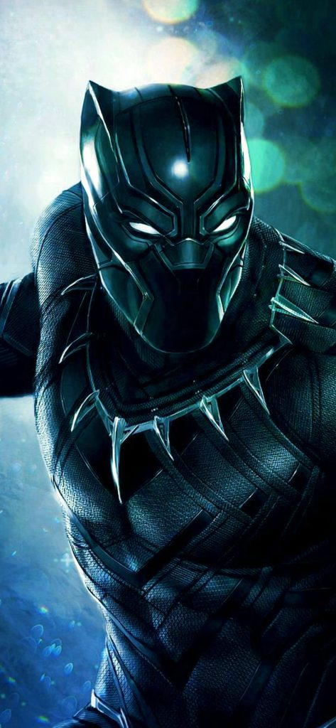 Black Panther Movie HD Wallpaper [1080 x 2340]