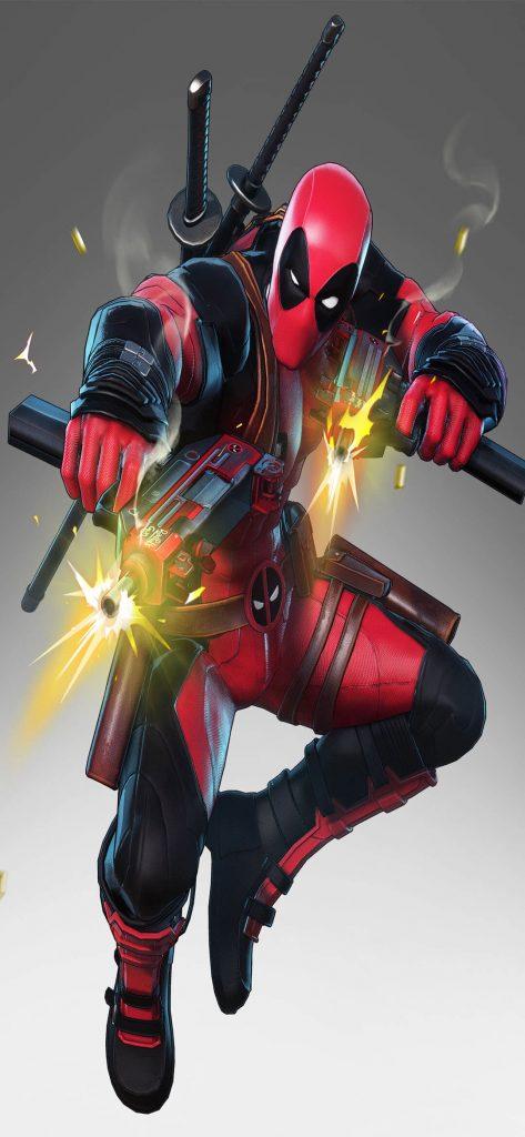 Marvel Deadpool HD Wallpaper [1080 x 2340]