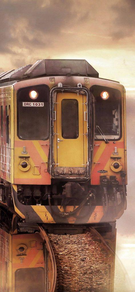 Vintage Train HD Wallpaper [1080x2340]