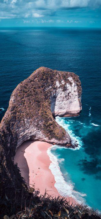 beach-calm-cliff-clouds-hd-wallpaper-1080x2340