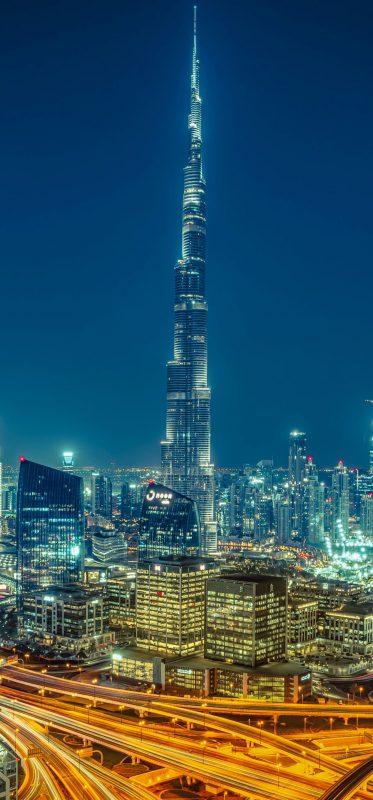 1080x2316-burj-khalifa-night-skyscraper