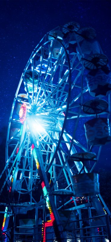 1080x2340-Ferris-wheel-night-hd-wallpaper