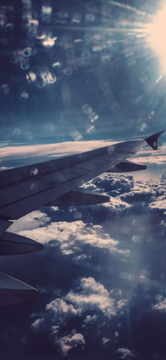1080x2340-flight-sky-view-wallpaper