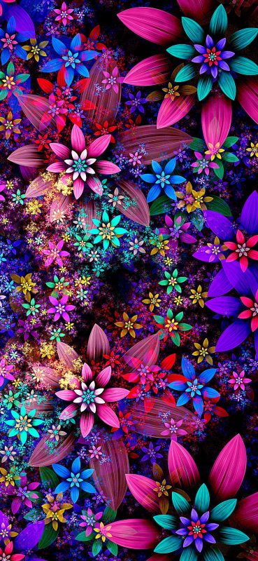 1080x2340-gorgeous-flower-design-hd-wallpaper