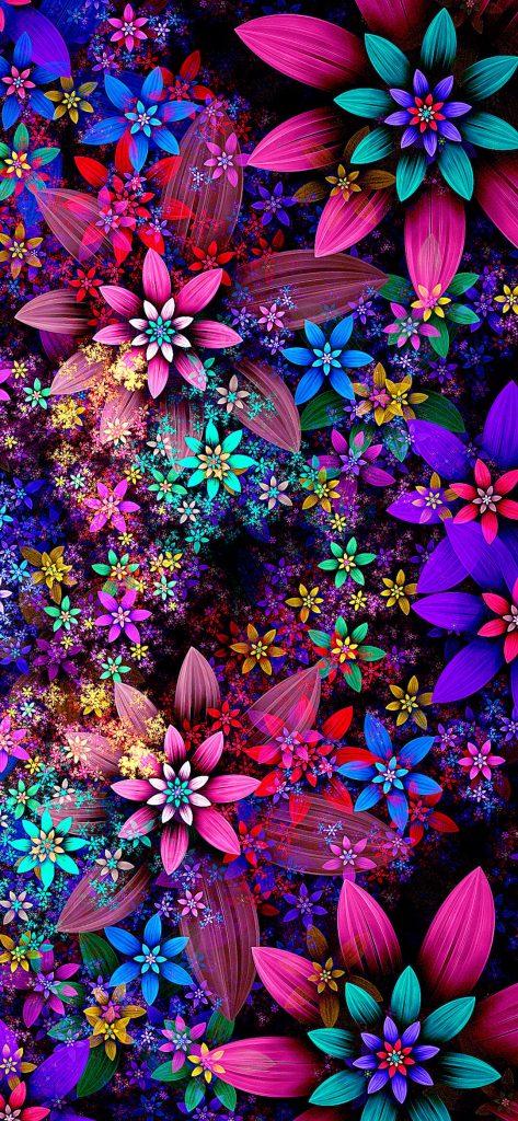1080x2340-gorgeous-flower-design-hd-wallpaper