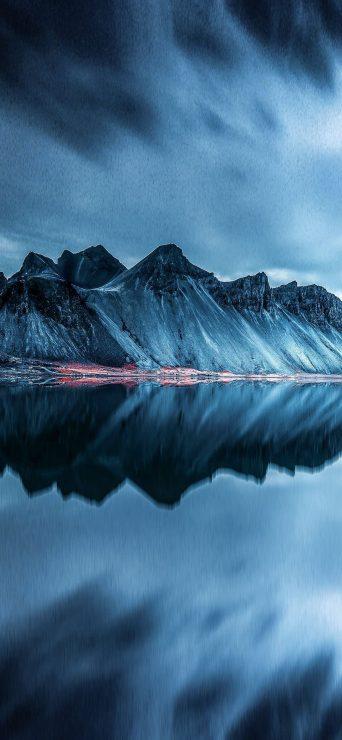 Mountain Reflection HD Wallpaper - [1080×2340]
