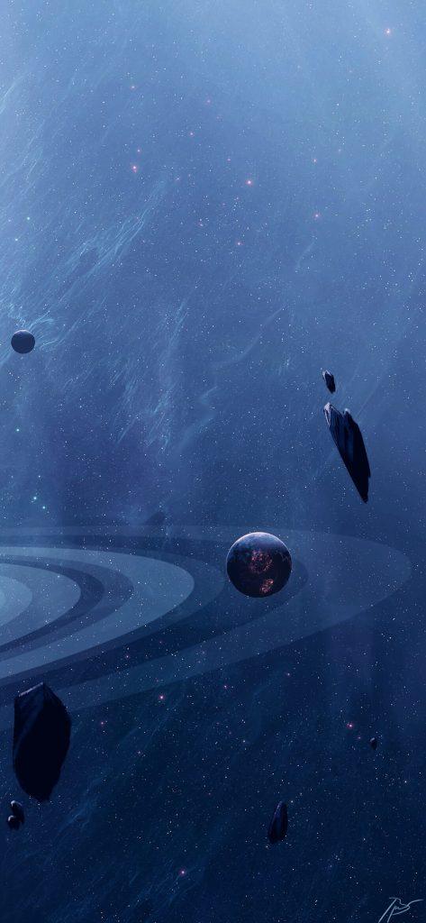 Sci Fi Planet HD Wallpaper [1080x2340]
