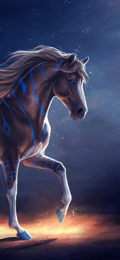 1080x2340-special-animal-horse-wallpaper