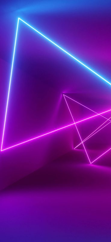 Stunning Artistic Neon HD Wallpaper 1080x2340 00226