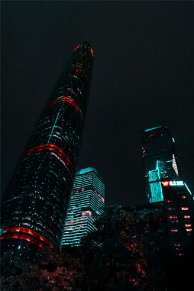 Amazing-Buildings-During-Night-Wallpaper-320×480