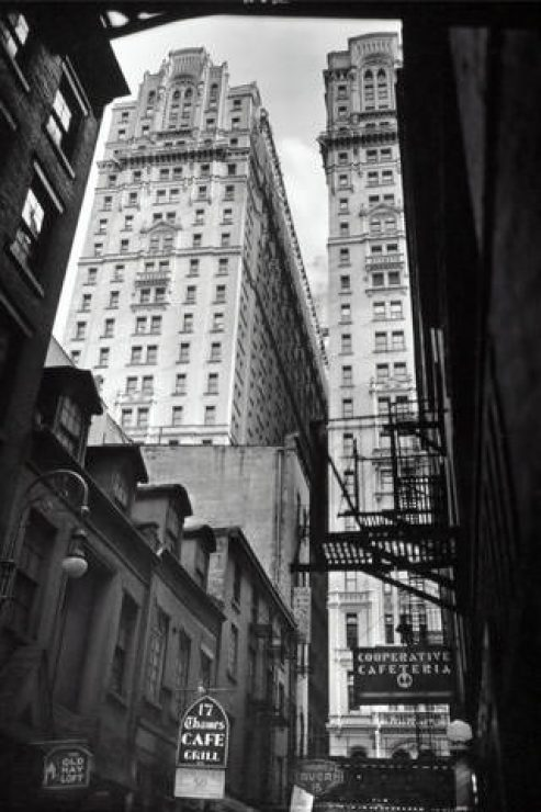 Black And White City Building HD Wallpaper - [320×480]
