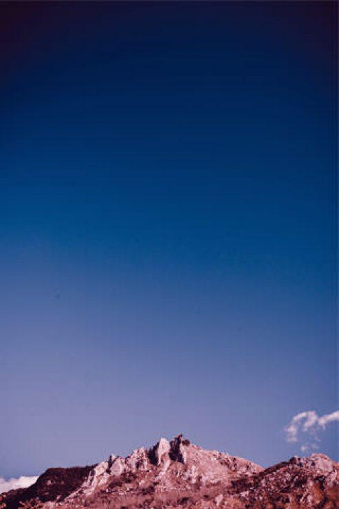 Blue Sky Above Mountain HD Wallpaper - [320×480]