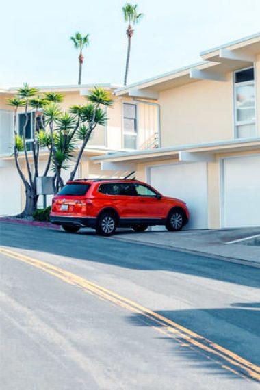 park-dreamed-red-car-hd-wallpaper-320x480
