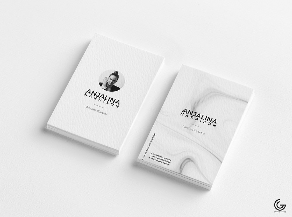 minimalist business card mockup 3900×2900 PX