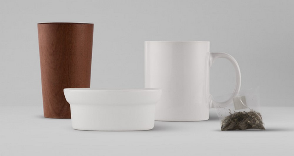 Teacup, Bowl or Wooden CupPSD Mockup