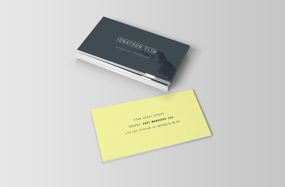 Supreme Business Card Mockups (PSD)