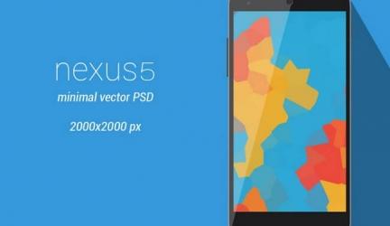 30+ Google Nexus Mobile Mockups – Free Vector , PSD