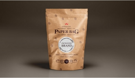 15+ Coffee Bag Mockups PSD Templates