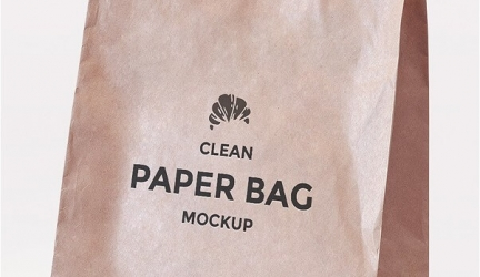 23+ Free Paper Bag Mockups PSD Templates